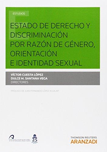 Estado de derecho y discriminación por razón de género, orientación e ...