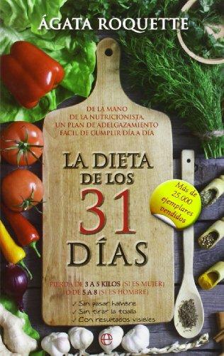 9788490600252: La Dieta De Los 31 Días (Bolsillo)