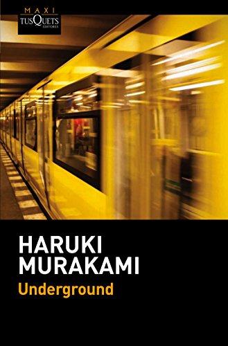 9788490661567: Underground: El atentado con gas sar�n en el metro de Tokio y la psicolog�a japonesa