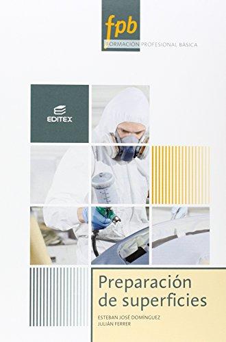 9788490780695: Preparación de superficies