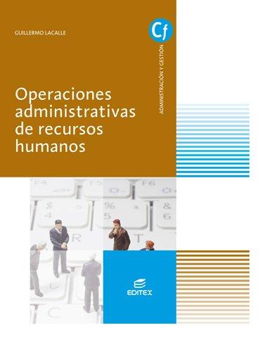 9788490785737: OPERACIONES ADMINISTRAT RECUR HUMAN