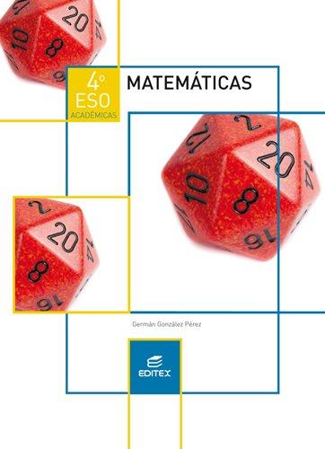 9788490787564: Matemáticas 4º ESO Académicas (LOMCE) (Secundaria) - 9788490787564