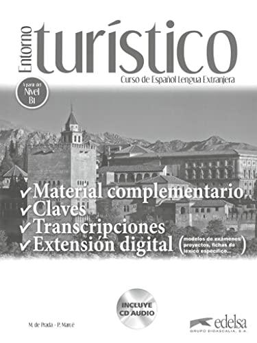 9788490816059: Entorno turístico - Material complementario / Claves mit Audio-CD