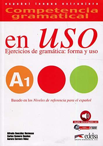 9788490816103: Competencia Gramatical En USO: Libro + CD A1
