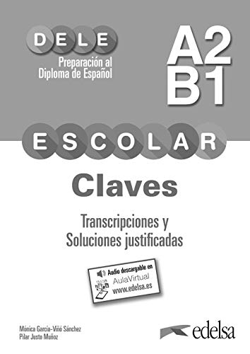 9788490816950: Preparación Dele Escolar A2/B1.Claves: Mit Audios online