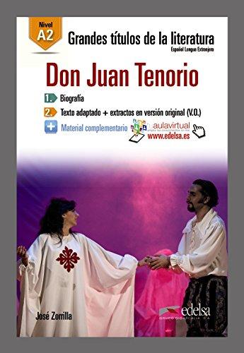 9788490817100: GTL A2 - Don Juan Tenorio (Lecturas - Jóvenes Y Adultos - Grandes Títulos De La Literatura - Nivel A2)