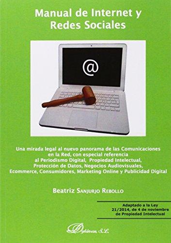 Manual de internet y redes sociales : Beatriz Sanjurjo Rebollo