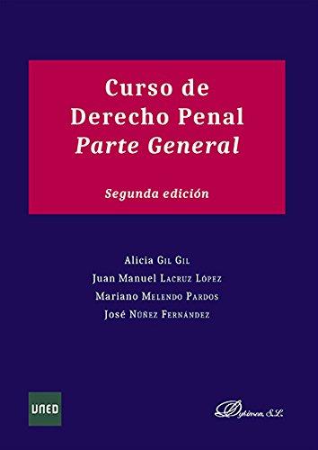 9788490855379: Curso de Derecho Penal. Parte general