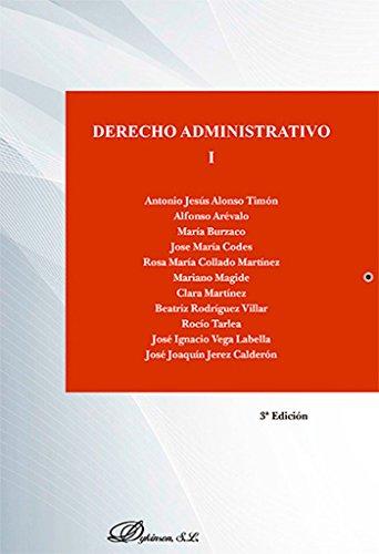 9788490856741: Derecho administrativo I