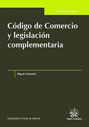 9788490864029: Código de Comercio y legislación complementaria (Textos Legales -México-)