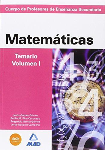 9788490935125: PAQUETE AHORRO MATEMÁTICAS CUERPO DE PROFESORES DE ENSEÑANZA SECUNDARIA - 9788490935125