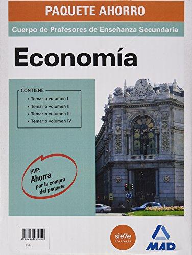 9788490935149: Economía, Paquete Ahorro, Cuerpo de Profesores de Enseñanza Secundaria