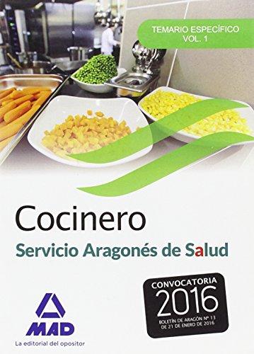 9788490937372: Cocinero del Servicio Aragonés de salud.: 1