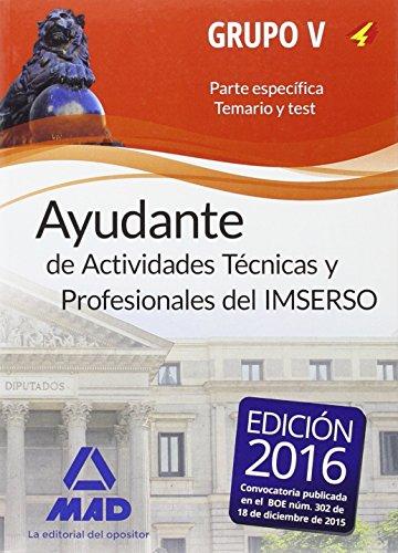 AYUDANTES DE ACTIVIDADES TÉCNICAS Y PROFESIONALES DEL: RIVERA PADILLA, JOSÉ;