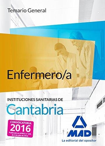 9788490939925: Enfermero/a de las Instituciones Sanitarias de Cantabria. Temario general
