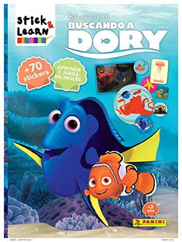 9788490946480: Buscando A Dory. Stick & Learn