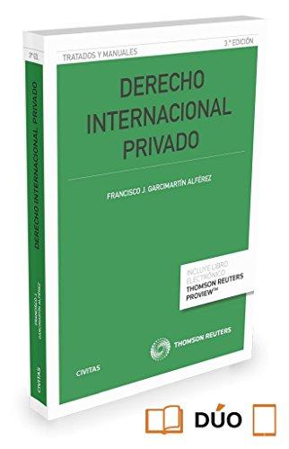 Derecho internacional privado (Paperback): Francisco J. Garcimartin Alferez