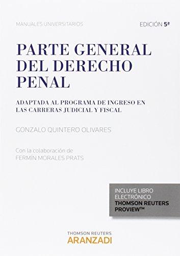PARTE GENERAL DEL DEREHCO PENAL 2015 - GONZALO QUINTERO OLIVARES