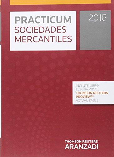 9788490989722: Practicum Sociedades Mercantiles 2016 (Papel + e-book)