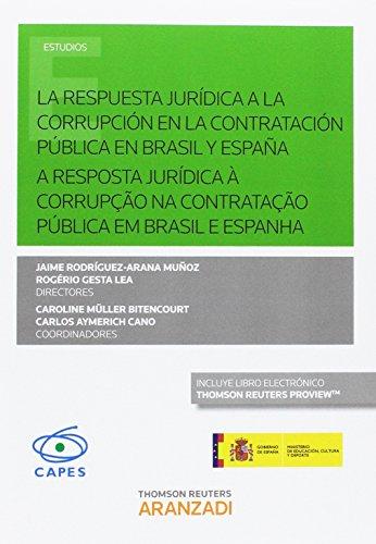 Prevención e loita contra a corrupción na: Rodríguez-Arana Muñoz, Jaime/Aymerich