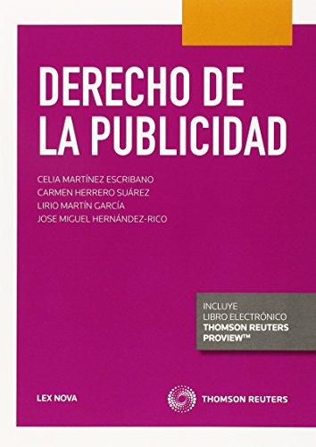 9788490990315: Derecho De La Publicidad (Lex Nova) (Manuales)