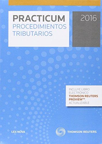 9788490992784: Practicum Procedimientos Tributarios 2016