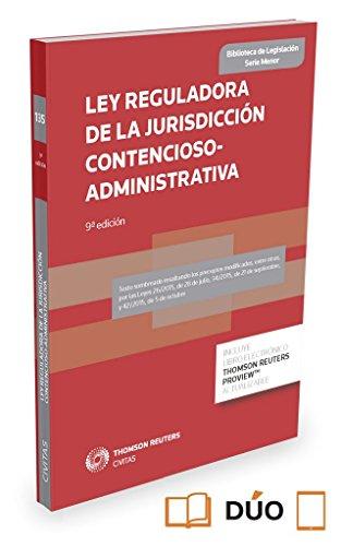 LEY REGULADORA DE LA JURISDICCIÓN CONTENCIOSO-ADMINISTRATIVA - Vv.Aa.