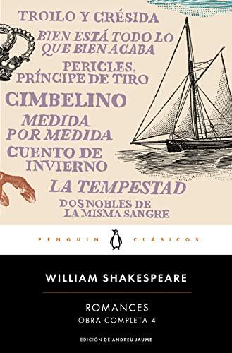 9788491051374: Obra completa Shakespeare 4. Romances