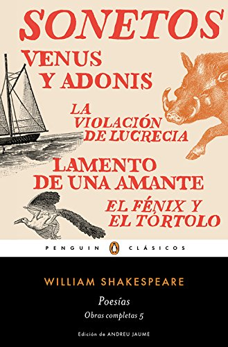 9788491051381: Poesías (Obra completa Shakespeare 5)
