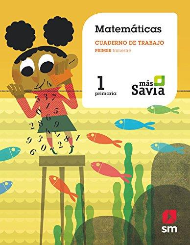 Matemáticas, cuaderno de trabajo, 1 primaria, 1: Ediciones Sm