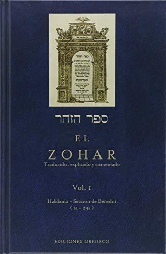 9788491113034: Zohar (VOL. I): 1 (CABALA Y JUDAISMO)