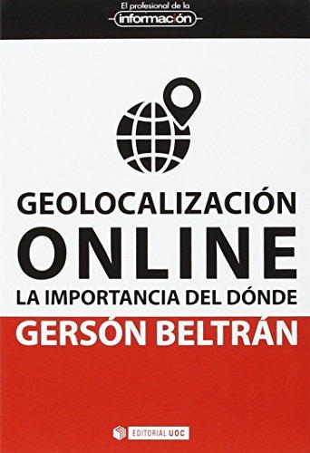 Geolocalización online Geolocalización online, Beltrán López, Gersón, New, 9788491161592 El mundo digital es social local y móvil (SoLoMo): se genera información local que se comparte en las redes sociales a través del móvil, lo que transforma completamente la relación entre el territorio, las personas y las organizaciones. La geolocalización indica la posición de una persona u objeto en el espacio. Con la aparición de Internet se ha convertido en una herramienta de comunicación entre lo local y lo global a través de la nube. Este libro ofrece una nueva visión de esta nueva geografía, con sus usos y herramientas, que integran el mundo físico con el mundo online a través de la importancia del dónde.