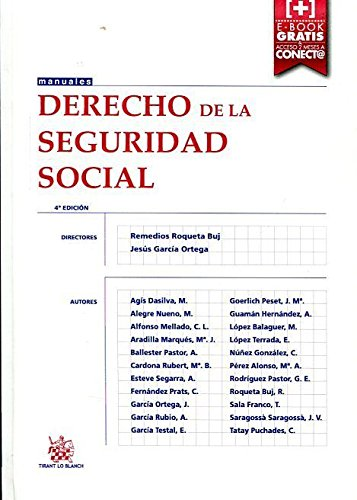 9788491190288: Derecho de la Seguridad Social 4+ Edición 2015