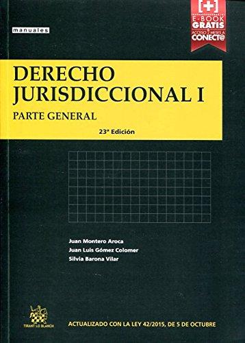 9788491191704: Derecho jurisdiccional