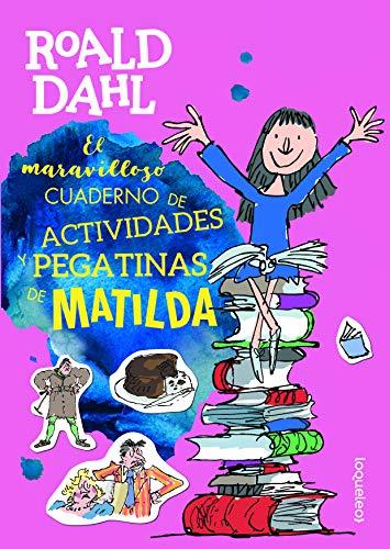 MATILDA El maravilloso cuaderno de actividades y: Dahl, Roald
