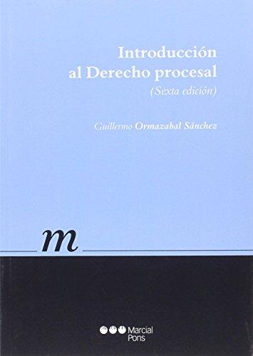 9788491230045: Introducción al Derecho procesal