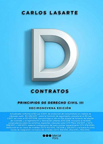 9788491232803: Principios de Derecho civil. Tomo III: Contratos: 3 (Manuales universitarios)