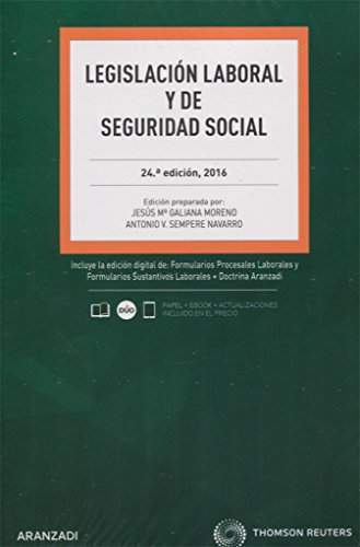 Legislacion Laboral y de la Seguridad Social.: Aranzadi