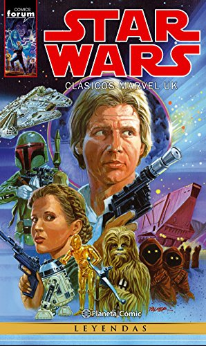 Star Wars, Clásicos Marvel UK (Paperback)
