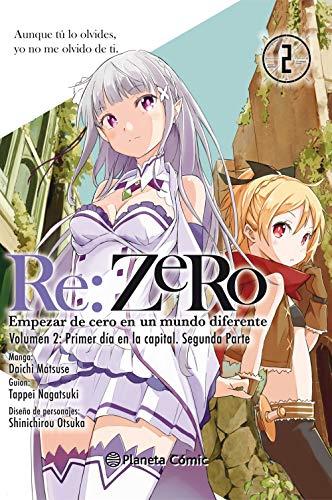 9788491468707: Re:Zero nº 02: Empezar de cero en un mundo diferente. Volumen 2. Primer día en la capital. Segunda parte (Manga Shonen)