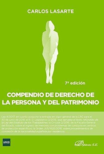 9788491482239: Compendio de Derecho de la Persona y del Patrimonio