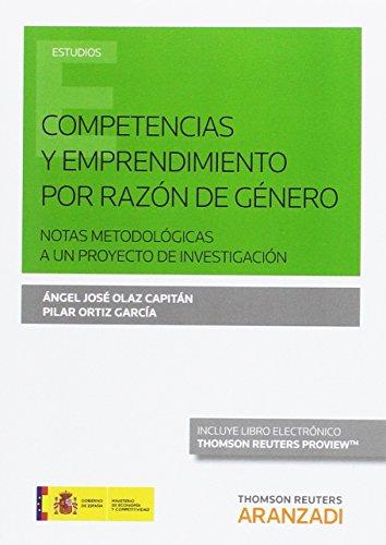 Competencias y emprendimiento por razon de genero (papel + e-book) - Olaz, Angel/Ortiz, Pilar