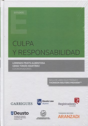 CULPA Y RESPONSABILIDAD: PRATS ALBENTOSA,LORENZO
