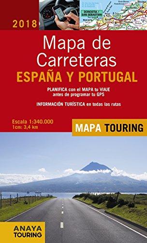 Mapa Carreteras España 2018.9788491580881 Mapa De Carreteras De Espana Y Portugal E 1