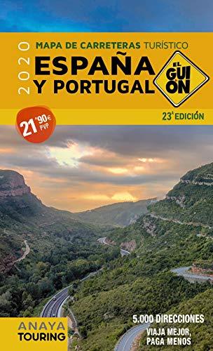 Mapa De Carreteras Espana Y Portugal 2020 El Guion 1 340 000 By Aa