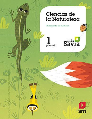9788491821298: Ciencias de la naturaleza. 1 Primaria. Más Savia. Asturias