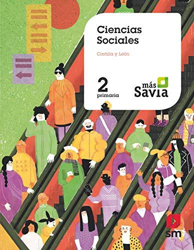 9788491821755: Ciencias sociales. 2 Primaria. Mas Savia. Castilla y León
