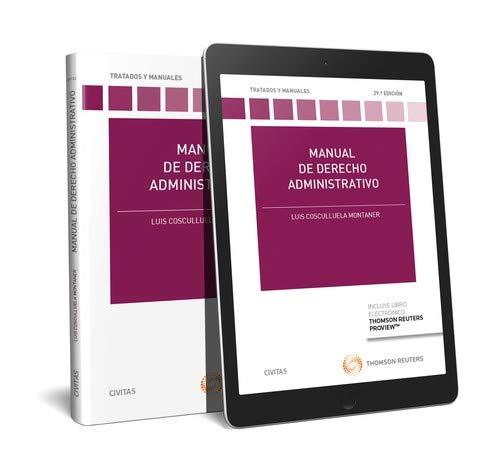 9788491977476: Manual de derecho administrativo (+ E-book) (Tratados y Manuales de Derecho)