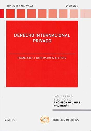 9788491979210: Derecho internacional privado