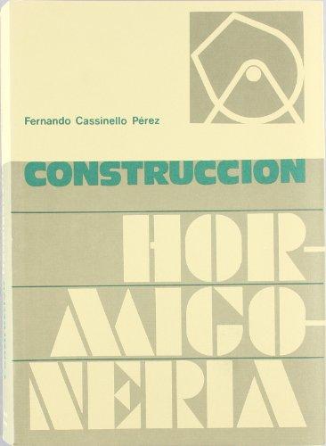 9788492029747: Construcción hormigonería